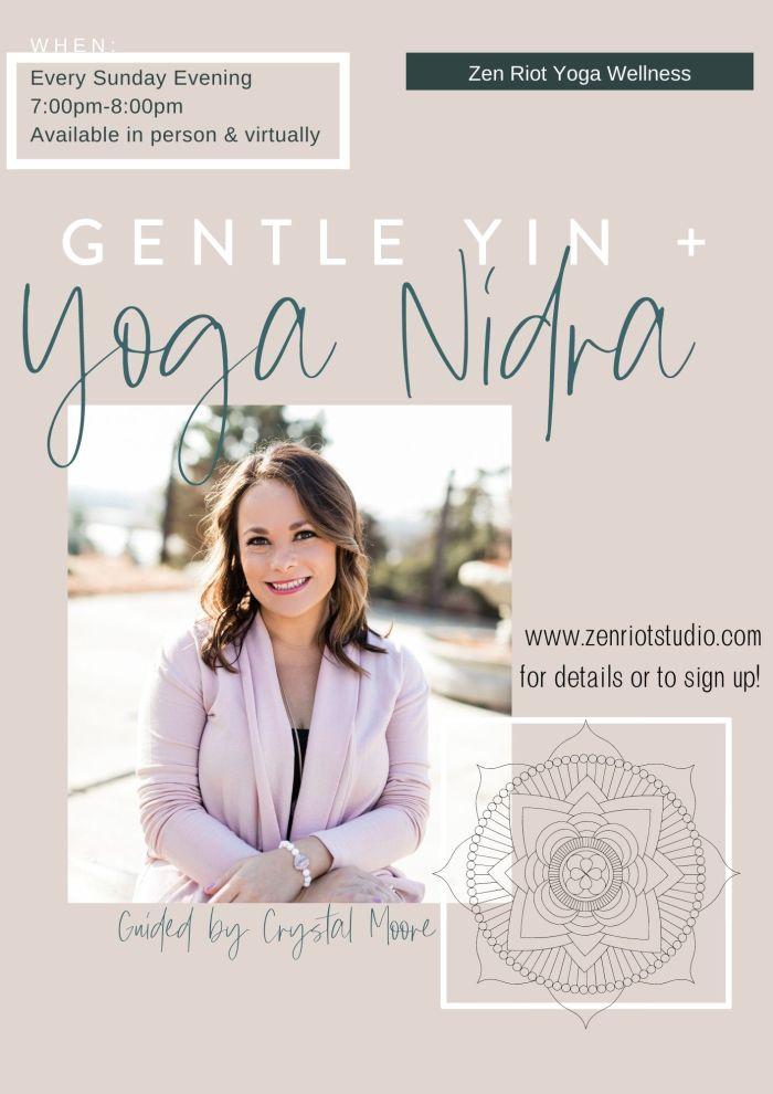 Gentle Yin and Nidra